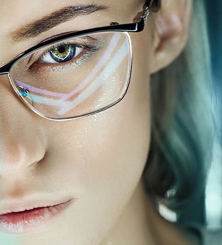 Laser Eye Surgery Supporting Image