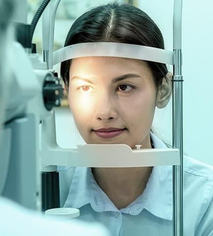 Adult Eye Exam Image